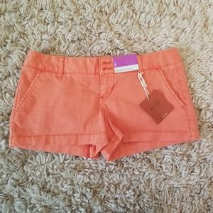 Mossimo Salmon colored short shorts size 5
